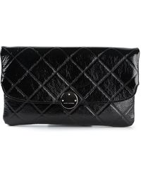 Marc Jacobs Quilted Trouble Clutch - Lyst