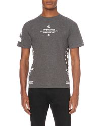 Crooks and Castles - Panther-printed Cotton-jersey T-shirt - Lyst