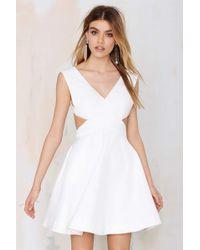 Nasty Gal Glory Of Love Cutout Dress - Lyst