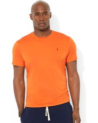 Ralph Lauren Polo Big and Tall Shortsleeve Performance Crewneck Tshirt - Lyst
