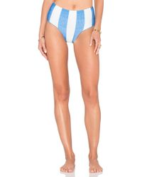 Amu - Hotpant Double Face Tricot - Lyst