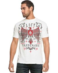 Affliction Tried Fate Tape Graphic Tshirt - Lyst