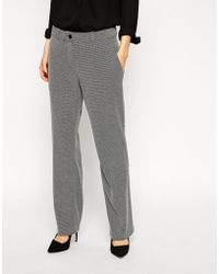Asos Mansy Pants in Jersey Tweed - Lyst