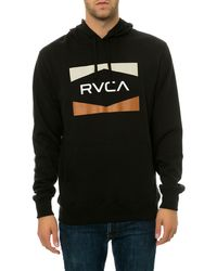 RVCA The Nation Hoodie - Lyst