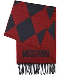 Moschino Woolen Scarf - Lyst