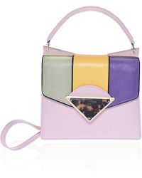 Sara Battaglia Pastel Small Cindy Bag - Lyst