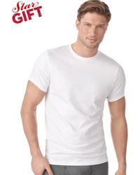 Calvin Klein Mens Crew-neck T-shirt 4-pack - Lyst