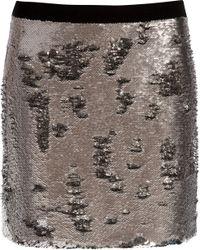 Ted Baker Joleigh Sequin Mini Skirt - Lyst