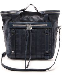 She + Lo - She + Lo Live It Up Convertible Bag - Navy - Lyst