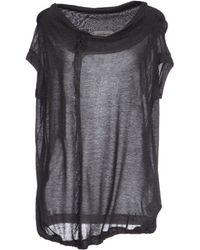 Yohji Yamamoto T-Shirt - Lyst