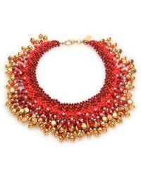 Etro Beaded Necklace - Lyst