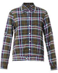 Raquel Allegra Plaid Cotton Shirt - Lyst