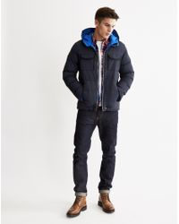 Bellfield | Radon Down Hooded Jacket | Lyst