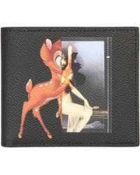 Givenchy Bambi  Female Form Classic Nylon Wallet - Lyst