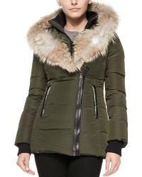Mackage Adali Fur-collar Puffer Coat - Lyst