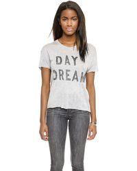 Zoe Karssen Day Dream Tee - Grey Heather - Lyst
