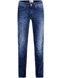 Acne Studios Denim Pants blue - Lyst