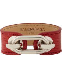 Balenciaga Lizard Skin Bracelet - Lyst
