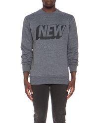 Stampd - Mens New Cotton-blend Crew Sweatshirt - Lyst