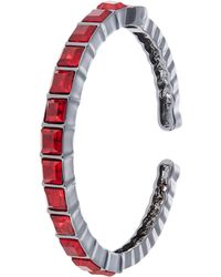 Kensie Red Stone Bangle - Lyst