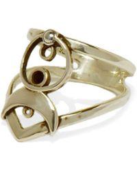 Pamela Love Cosmos Midi Ring gold - Lyst