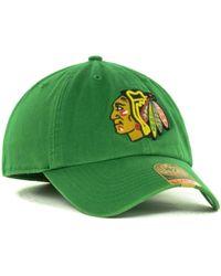 47 Brand Chicago Blackhawks Franchise Cap - Lyst