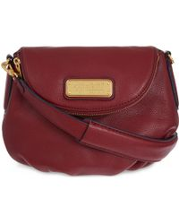 Marc By Marc Jacobs New Q Mini Natasha Leather Cross-Body Bag - For Women - Lyst