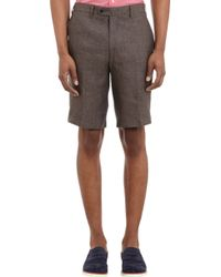 Barneys New York Delave Bermuda Shorts - Lyst