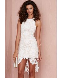 Nasty Gal Keepsake I Will Wait Lace Dress - Lyst