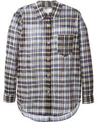 Etoile Isabel Marant Checked Shirt - Lyst