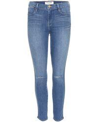 Frame Denim Le High Skinny Jeans - Lyst