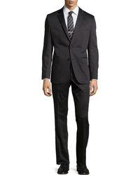 Hugo Boss Grand Central Gabardine Two-Piece Suit - Lyst