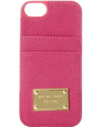 MICHAEL Michael Kors Electronics Phone Cover W Pocket - Lyst