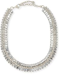 R.j. Graziano - Crystal Collar Necklace - Lyst