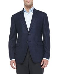 Paul Smith Herringbone Windowpane Jacket - Lyst