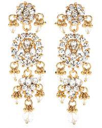 Isharya | Bling Maharani Earrings | Lyst