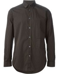 Diesel Gray S-kinop Shirt - Lyst