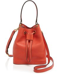 Tory Burch Shoulder Bag - Leather Baby Bucket - Lyst