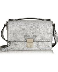 3.1 Phillip Lim The Pashli Mini Messenger Textured-leather Shoulder Bag - Lyst