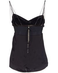 Dolce & Gabbana Black Top - Lyst