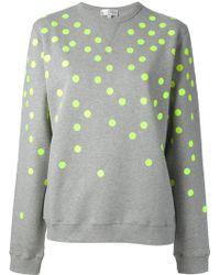 Lulu & Co - Polka Dot Sweatshirt - Lyst