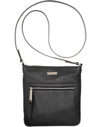 Tommy Hilfiger T Group Leather Ns Crossbody - Lyst