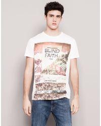 Pull&Bear Print T-Shirt - Lyst
