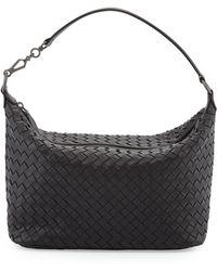 Bottega Veneta Small Zip Hobo Bag - Lyst