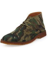 Ralph Lauren Collection Leather Chukka Boot - Lyst