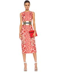 Roksanda Ilincic Printed Langston Dress - Lyst