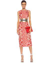 Roksanda Ilincic Printed Langston Dress - Lyst