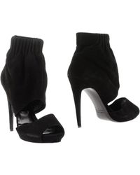Pierre Hardy Ankle Boots black - Lyst