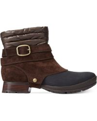 The North Face Womens Zophia Booties - Lyst