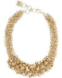 BCBGMAXAZRIA | Drop Stone Necklace | Lyst